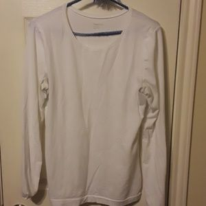 Gap Body Large clear White Long sleeve